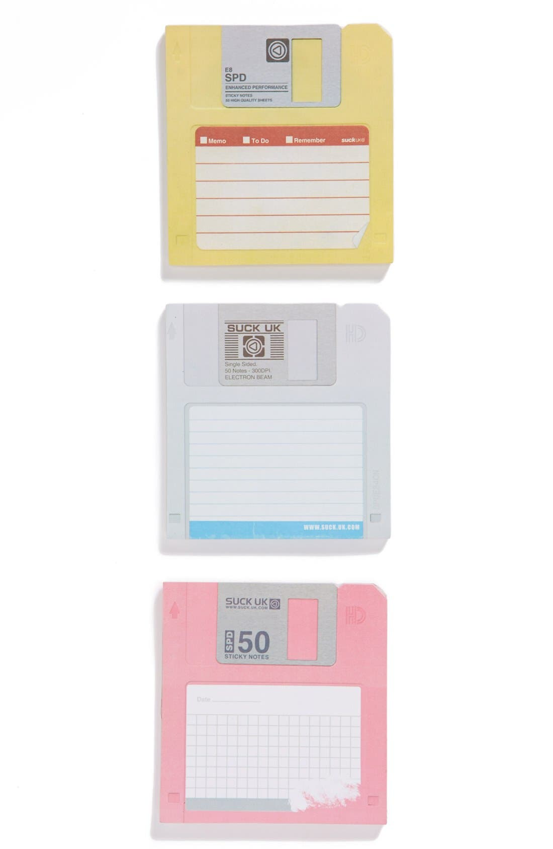 Alternate Image 1 Selected - Suck UK Floppy Disk Sticky Notes