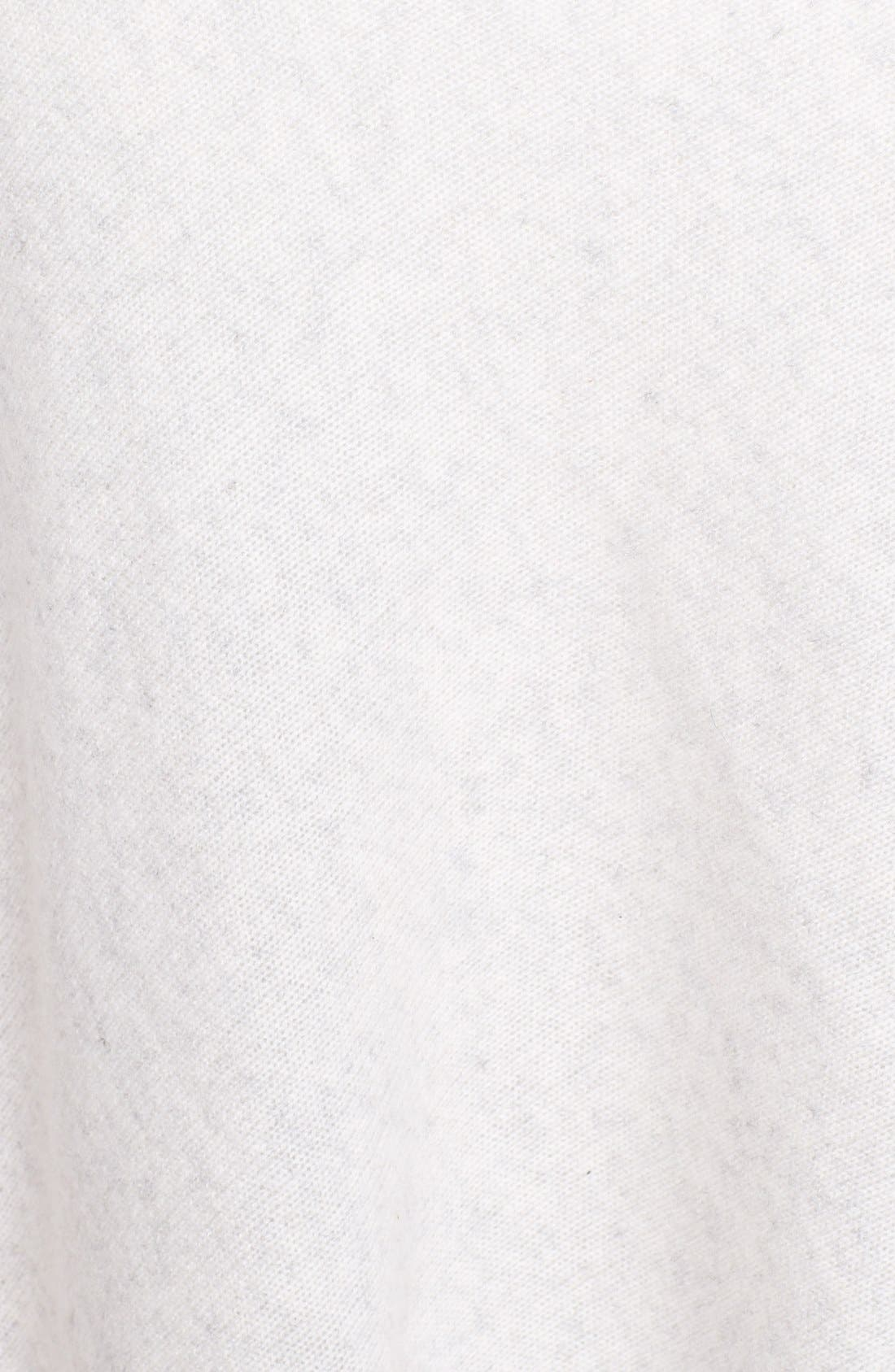 Alternate Image 3  - White + Warren Asymmetrical Cashmere Poncho