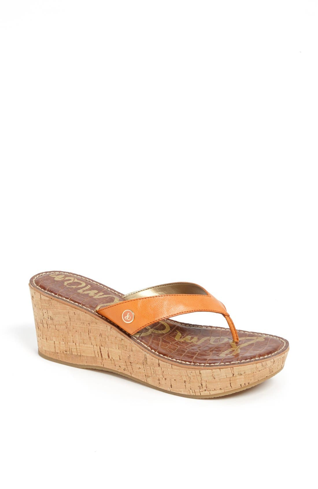 Alternate Image 1 Selected - Sam Edelman 'Romy' Wedge Sandal (Women)