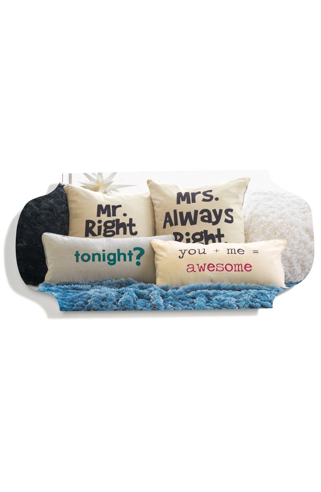 Alternate Image 2  - Levtex 'Mrs. Always Right' Pillow