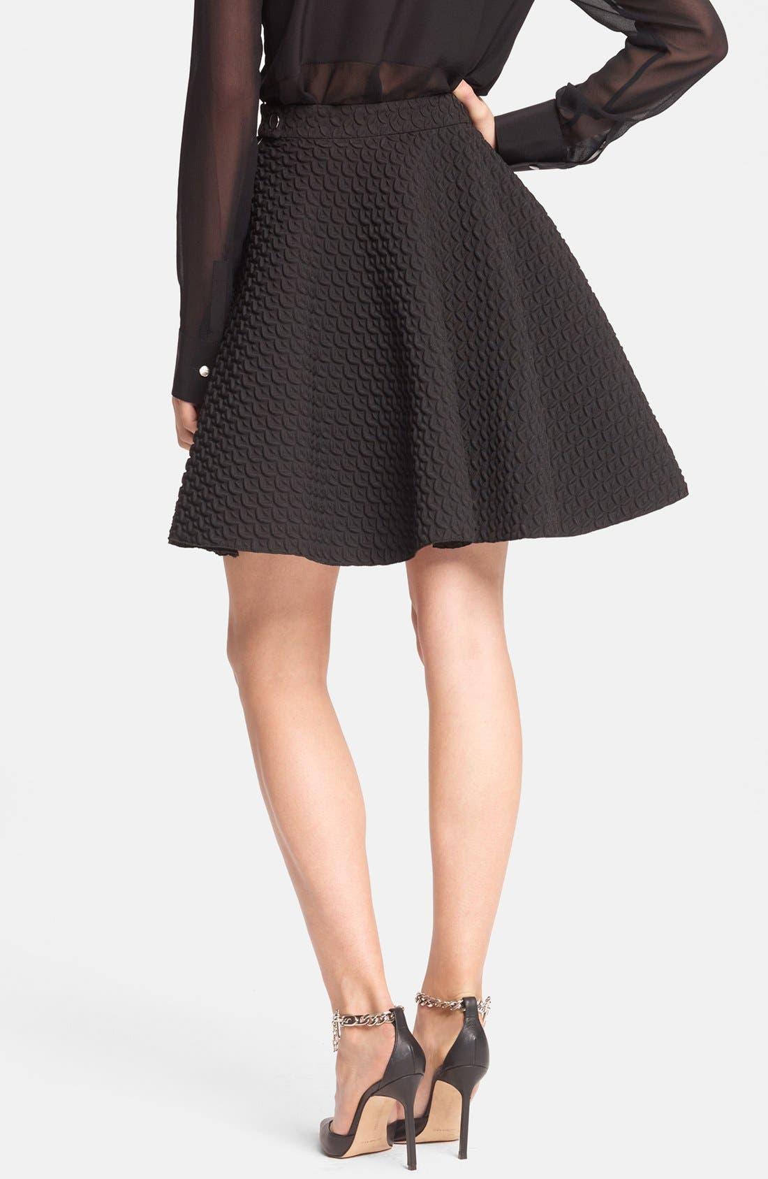 Alternate Image 2  - Faith Connexion Pleated Neoprene Skirt