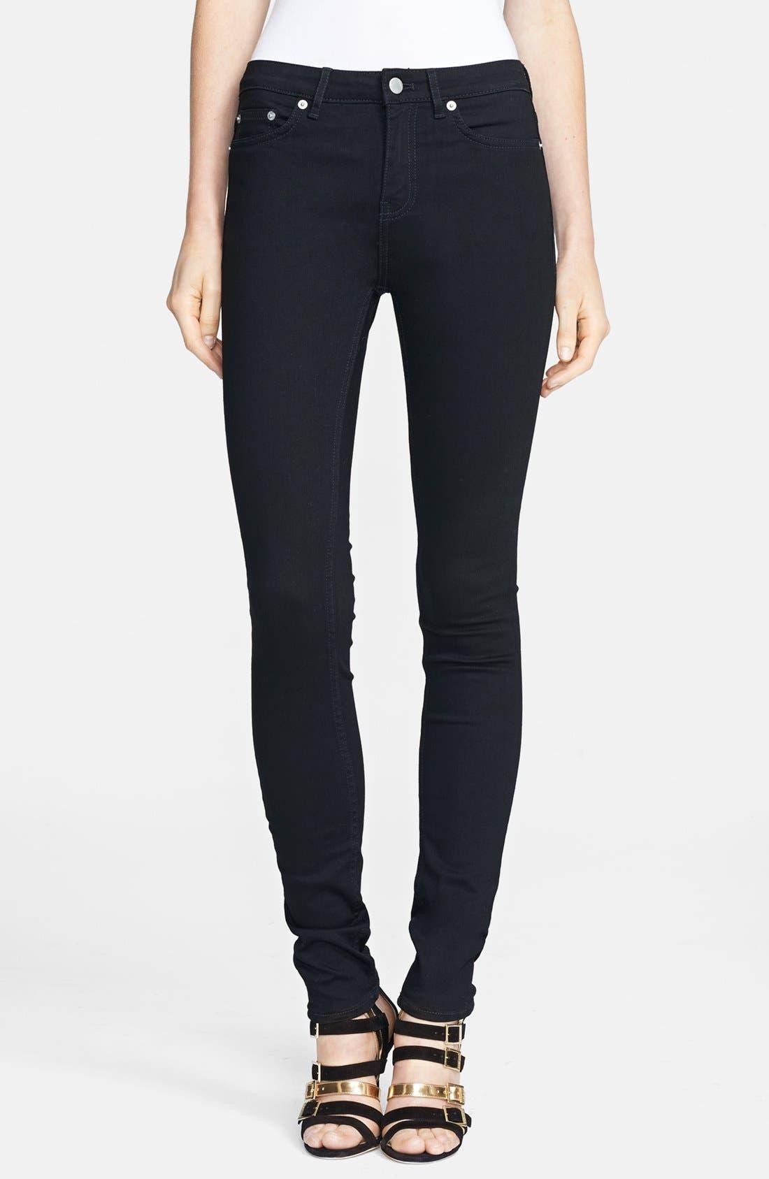 Alternate Image 1 Selected - BLK DNM Skinny Jeans (Monroe Black)