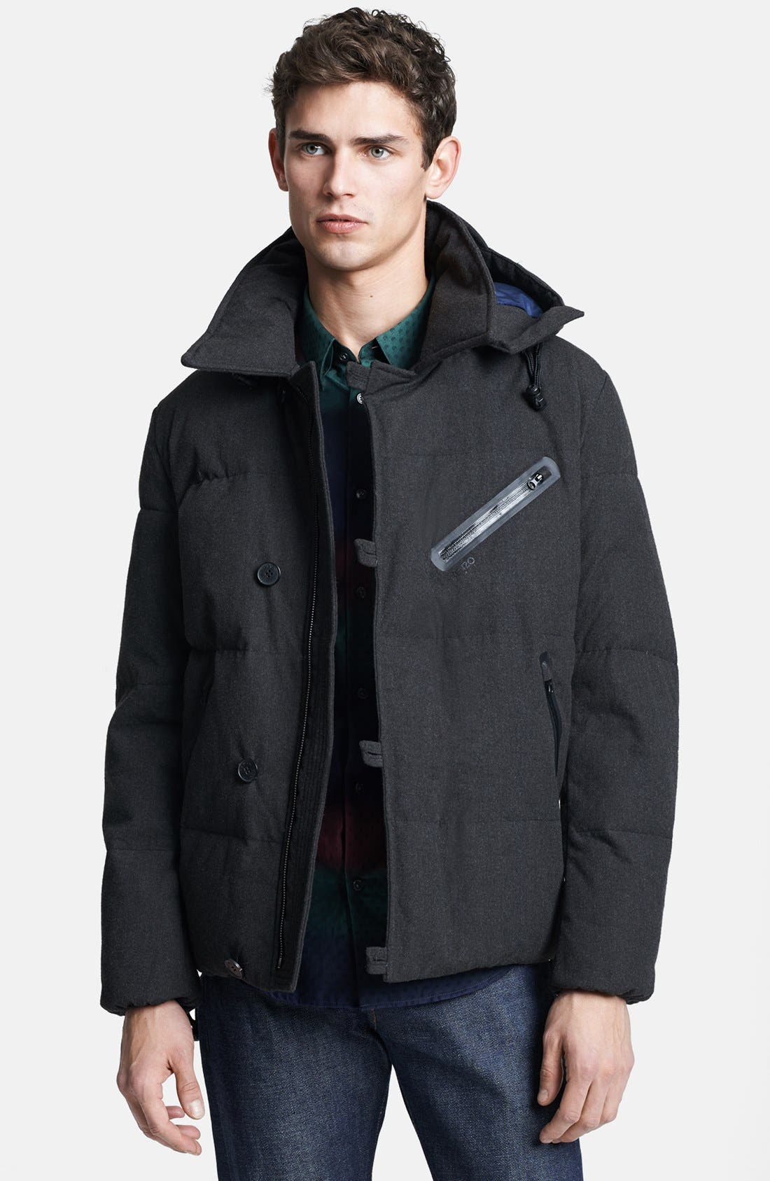 Alternate Image 1 Selected - KENZO Quilted Down Jacket
