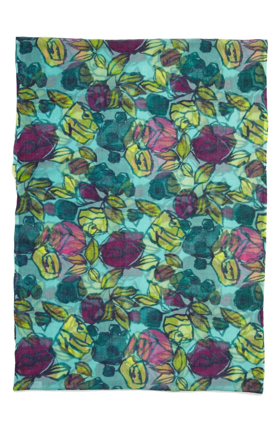 Alternate Image 2  - Lulla Collection by Bindya 'Rosebuds' Wool Infinity Scarf