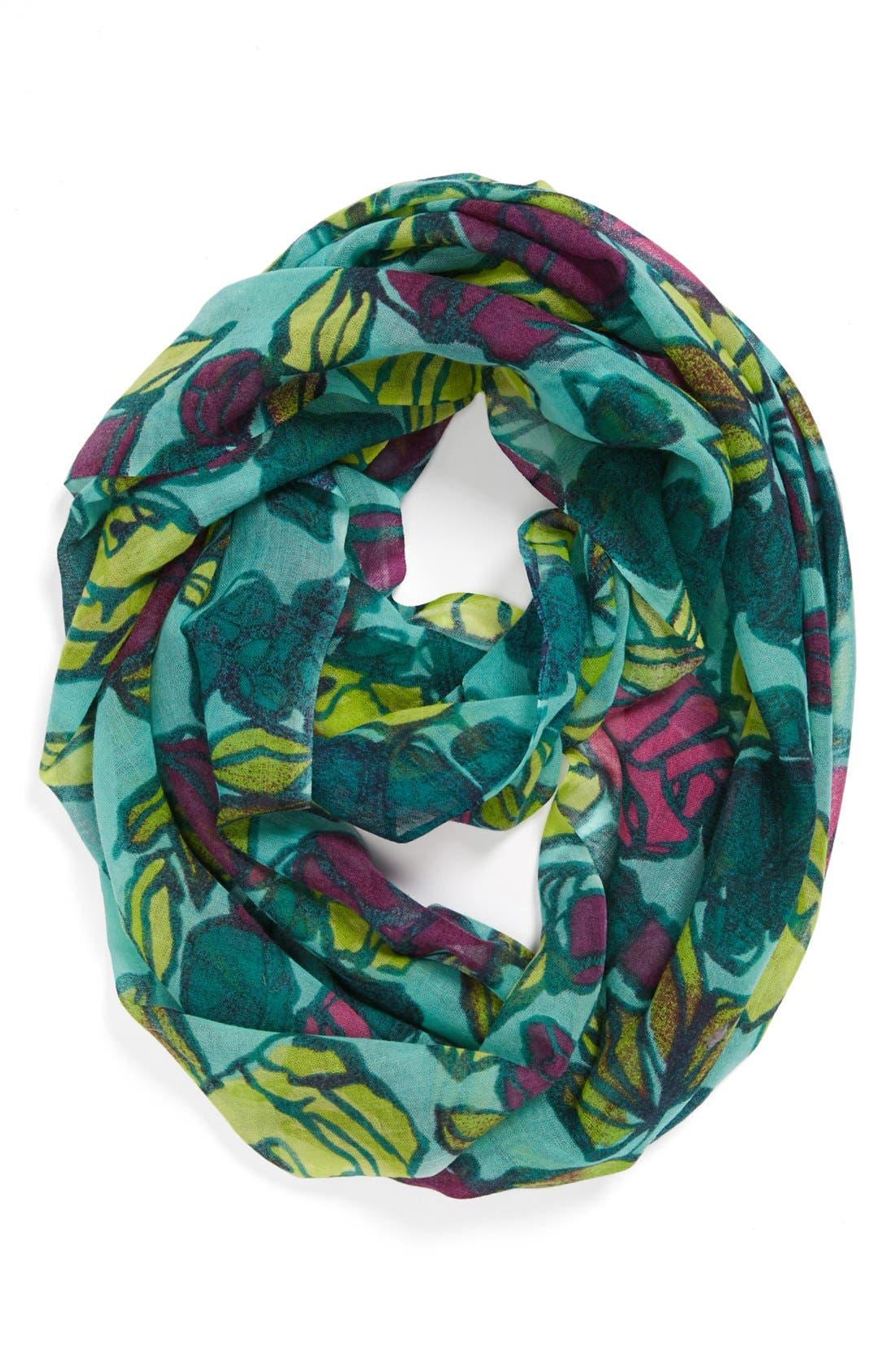 Main Image - Lulla Collection by Bindya 'Rosebuds' Wool Infinity Scarf