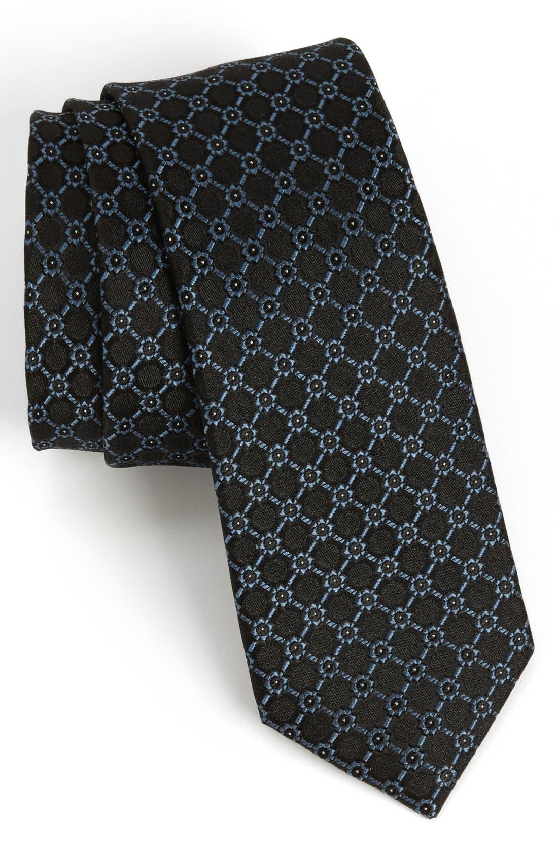 Main Image - The Tie Bar Woven Silk Tie