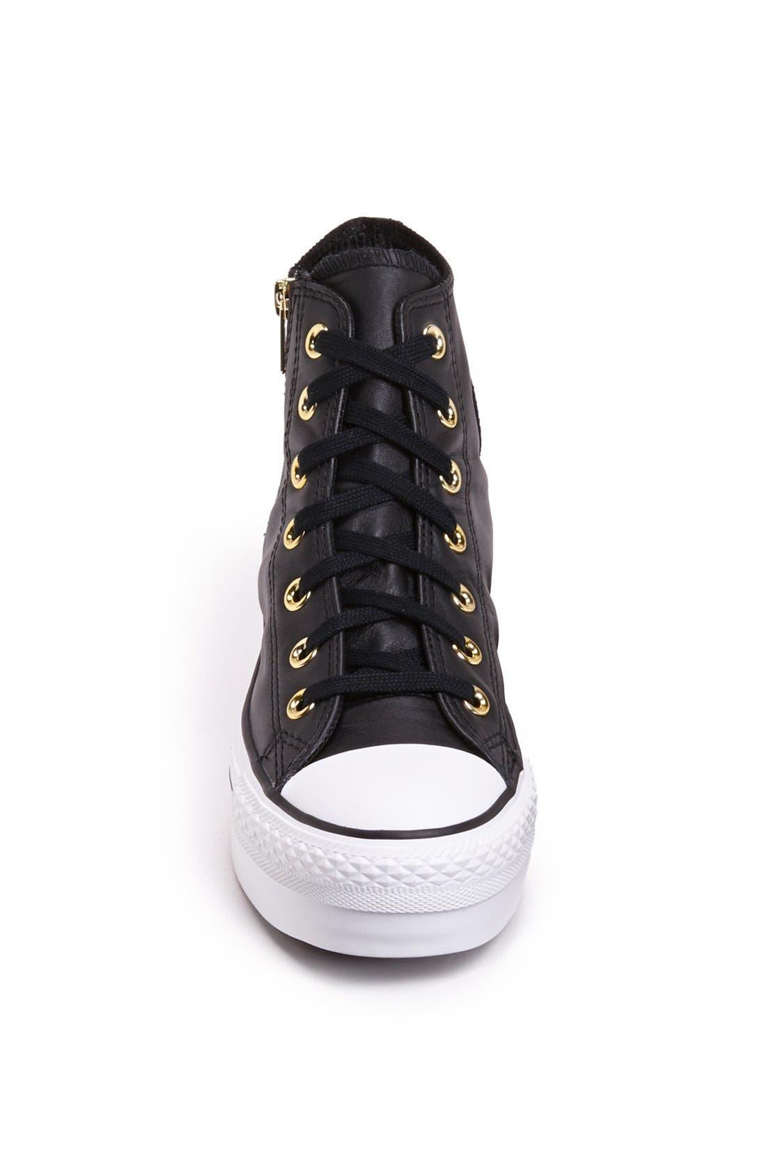 Alternate Image 3  - Converse High Top Platform Sneaker (Women)