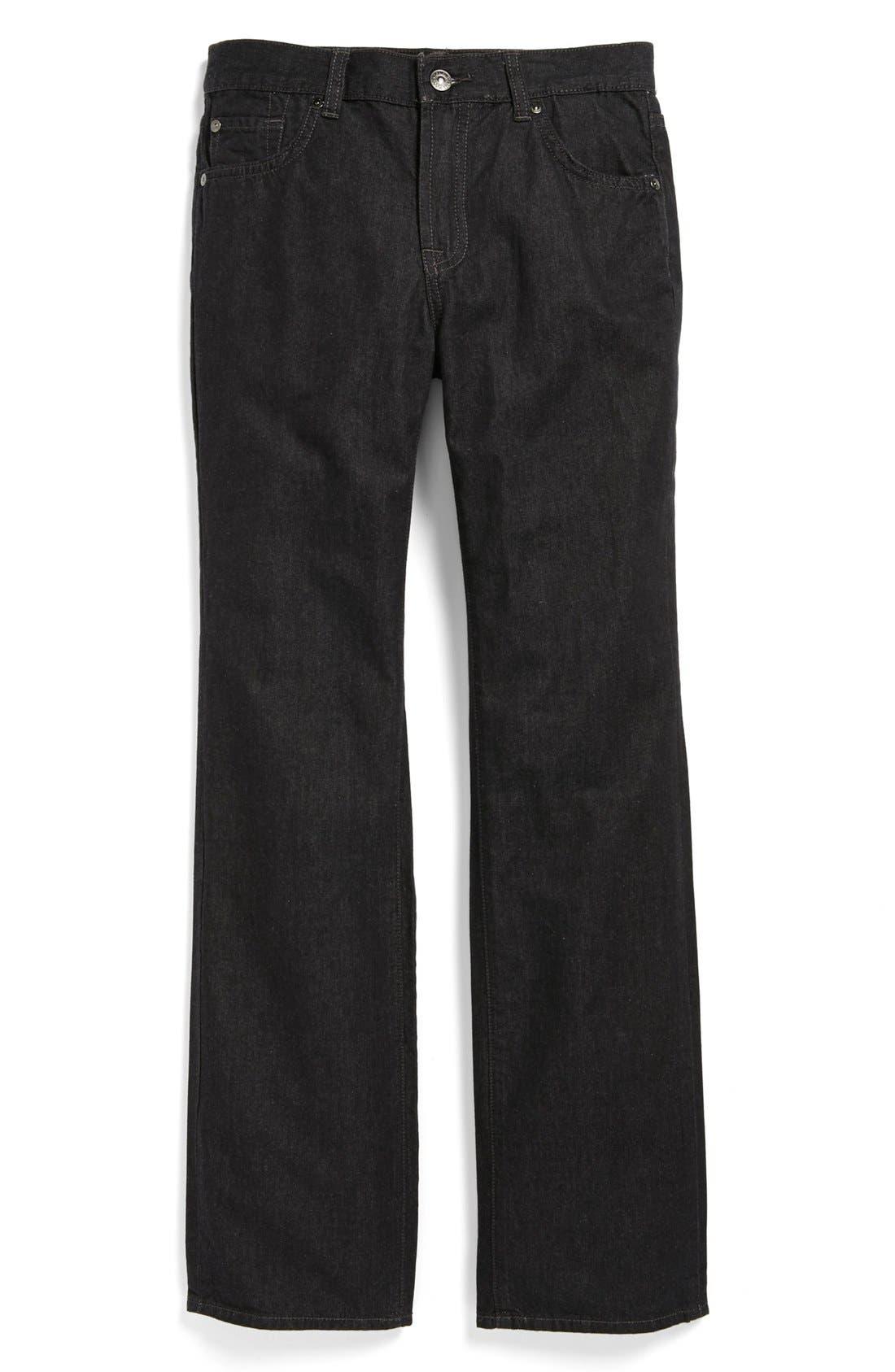 Alternate Image 2  - 7 For All Mankind® 'Standard' Straight Leg Jeans (Big Boys)