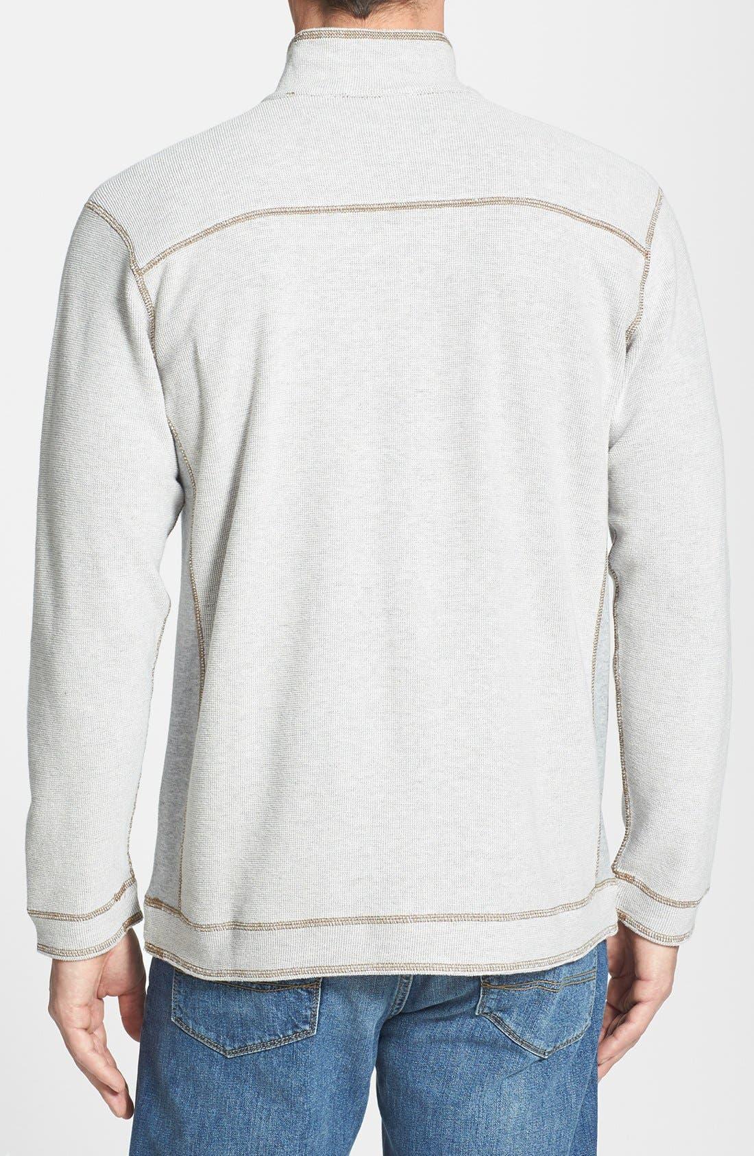 Alternate Image 3  - Tommy Bahama Denim 'Grand Isles' Reversible Half Zip Sweatshirt