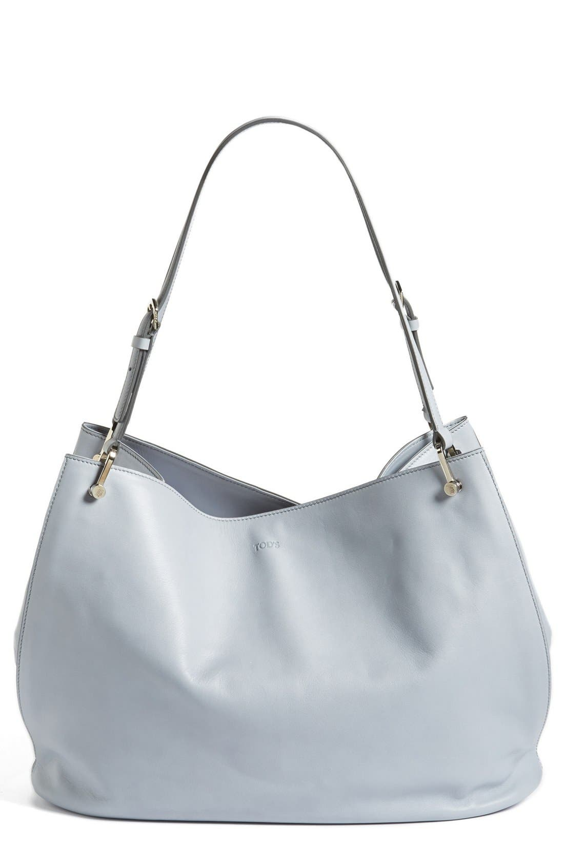 Alternate Image 1 Selected - Tod's 'Borse - Grande' Leather Shopper