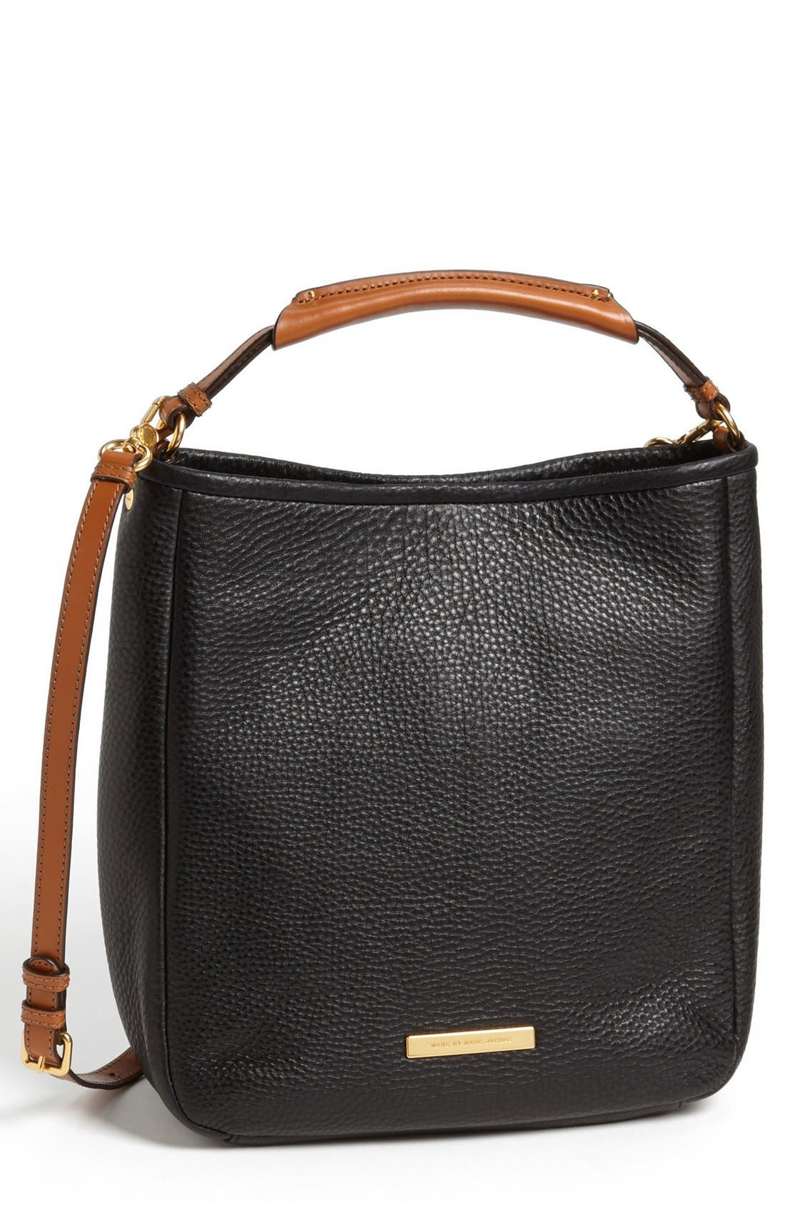 Alternate Image 1 Selected - MARC BY MARC JACOBS 'Large Softy Saddle' Leather Hobo