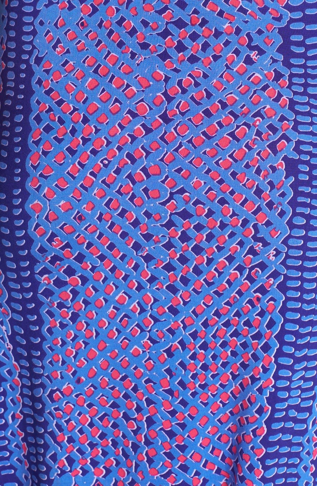 Alternate Image 3  - T Bags Print Jersey Halter Maxi Dress
