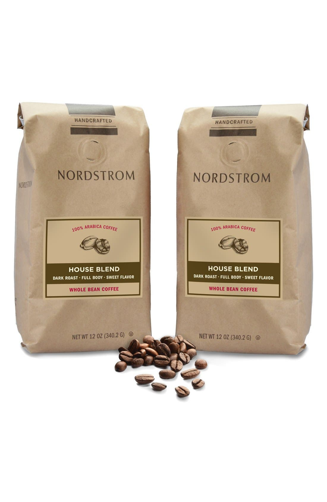 Main Image - Nordstrom Coffee 'House Blend' Whole Bean Coffee (2-Pack)