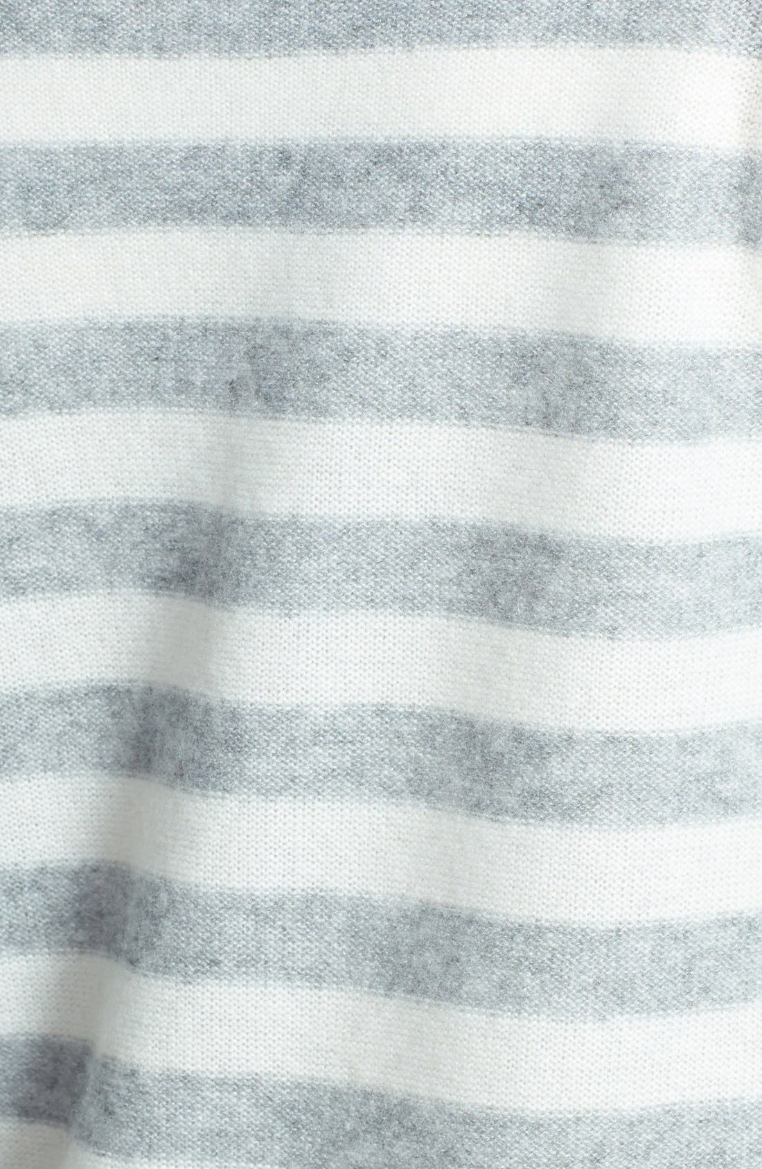 Alternate Image 3  - Only Mine Striped Cashmere Sweater
