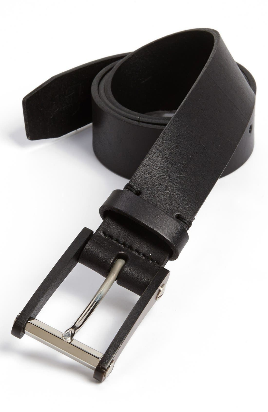 Alternate Image 1 Selected - 7 For All Mankind® Leather Belt