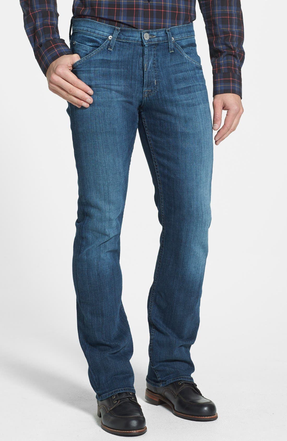 Alternate Image 1 Selected - Hudson Jeans 'Webber' Bootcut Jeans (Harris) (Online Exclusive)