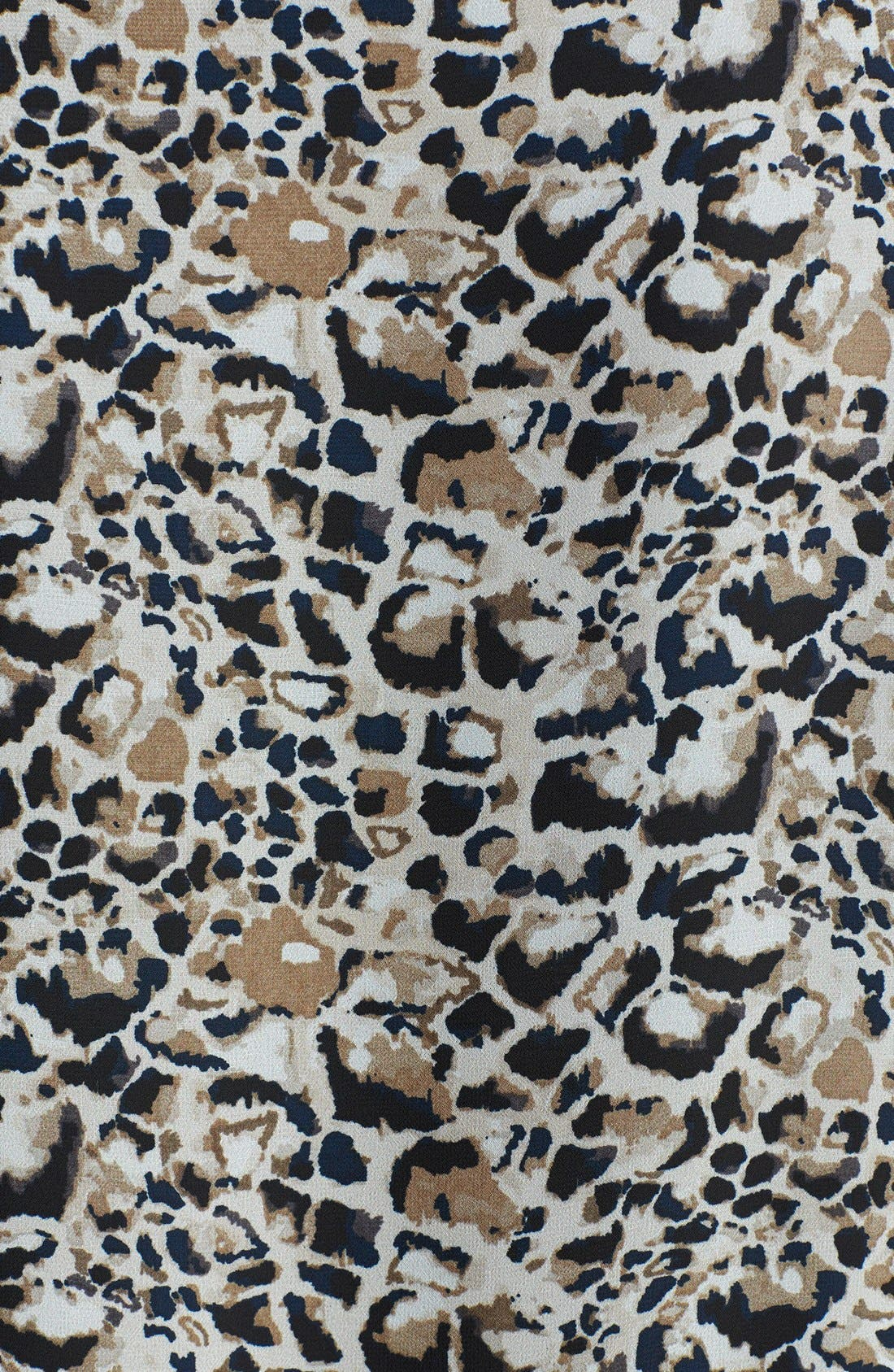 Alternate Image 3  - Vince Camuto 'Animal Rocks' Wrap Front Blouse