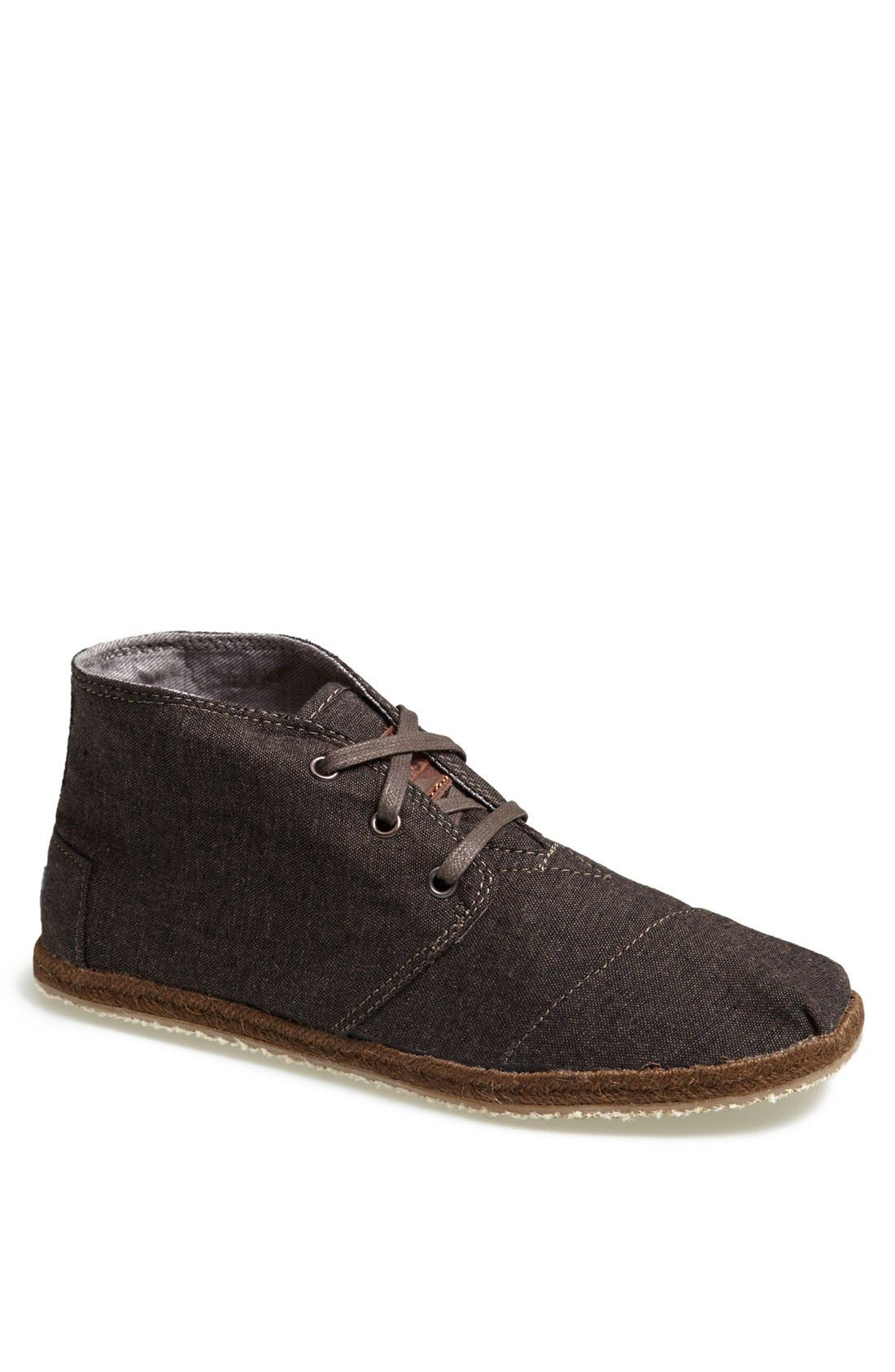 Alternate Image 1 Selected - TOMS 'Botas - Desert' Denim Boot (Men)