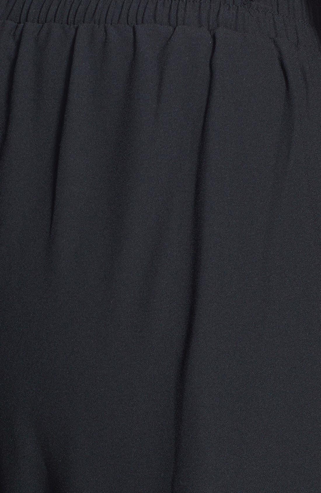 Alternate Image 3  - Bobeau Track Pants (Plus Size)