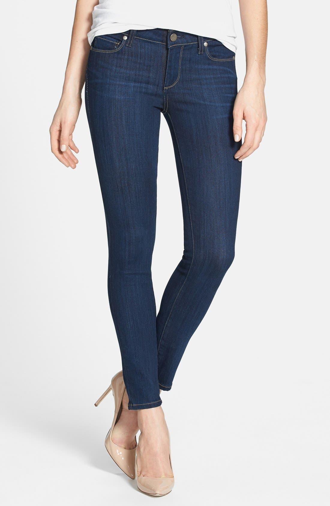 Main Image - Paige Denim 'Verdugo' Skinny Ankle Jeans (Ashbury)