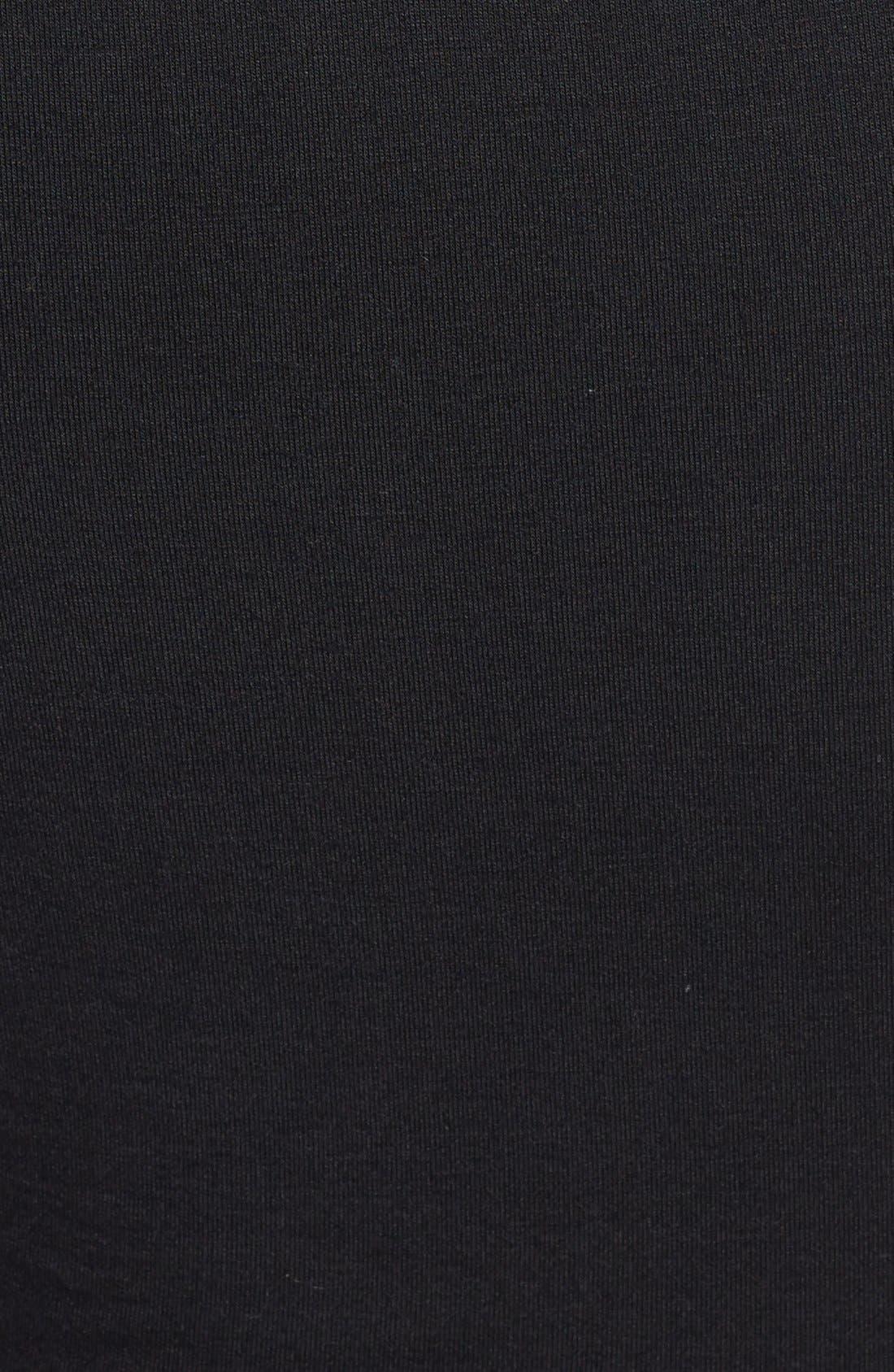 Alternate Image 3  - C. Luce Mock Neck Lace Crop Top (Juniors)