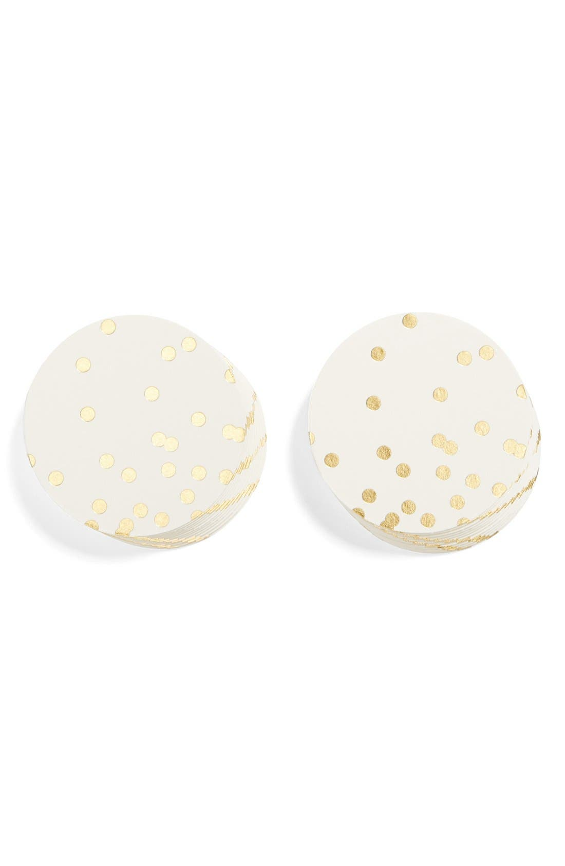 Main Image - kate spade new york party coasters (set of 24)