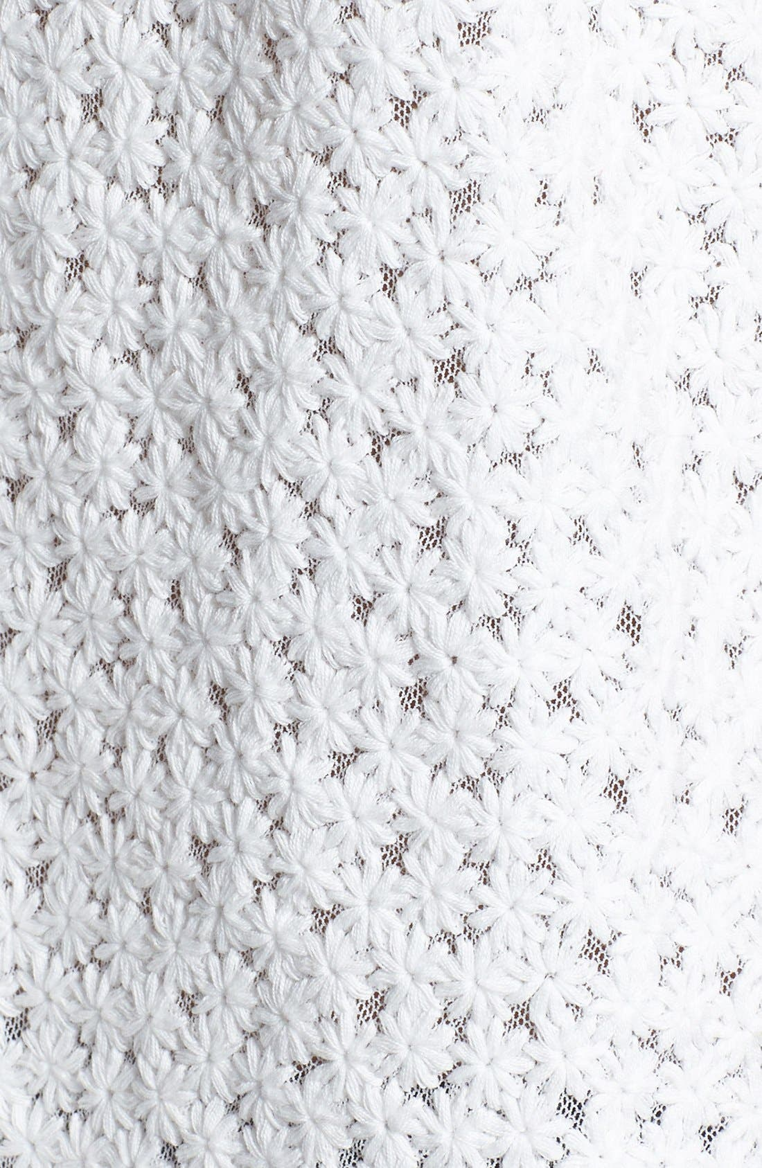 Alternate Image 3  - June & Hudson Embroidered Handkerchief Hem Camisole