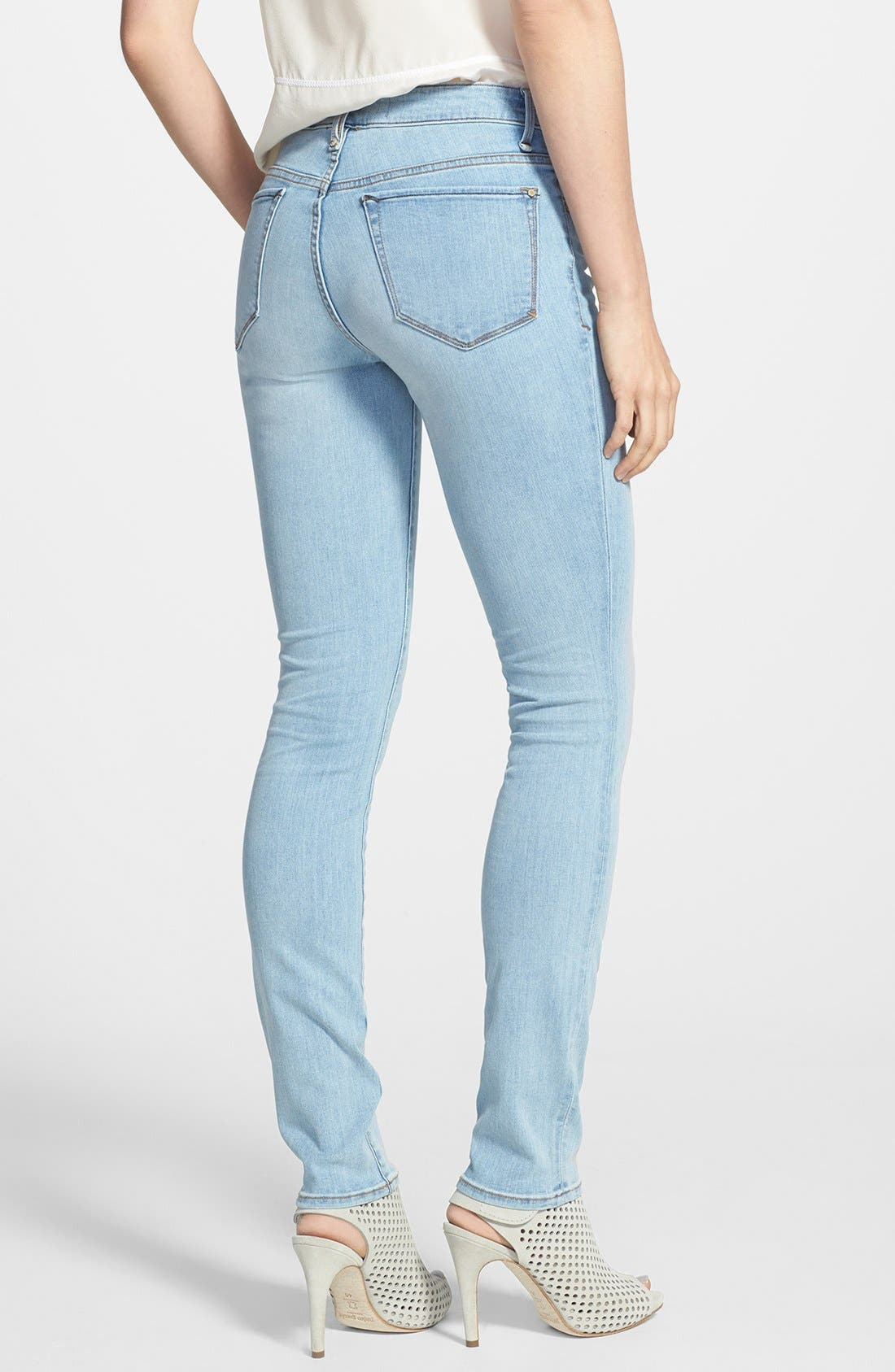 Alternate Image 2  - MARC BY MARC JACOBS 'Gaia' Stretch Super Skinny Jeans (Avalon)