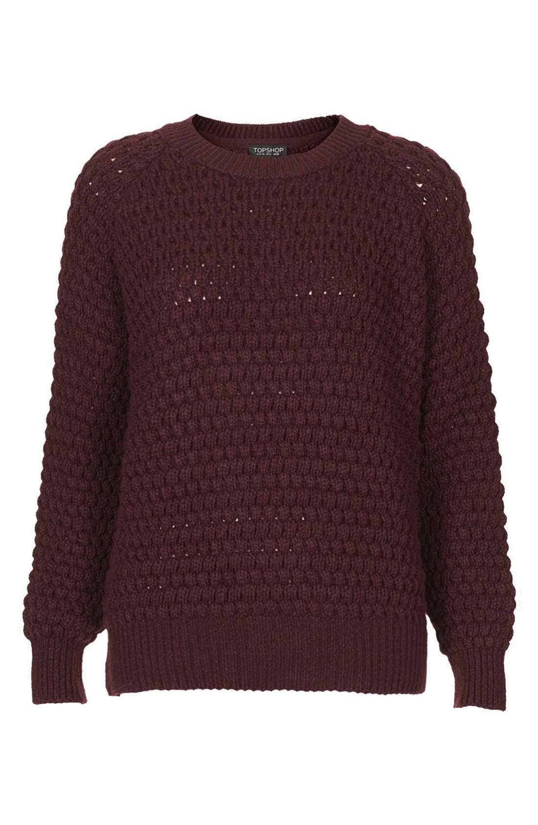 Alternate Image 3  - Topshop Chunky Bobble Knit Sweater