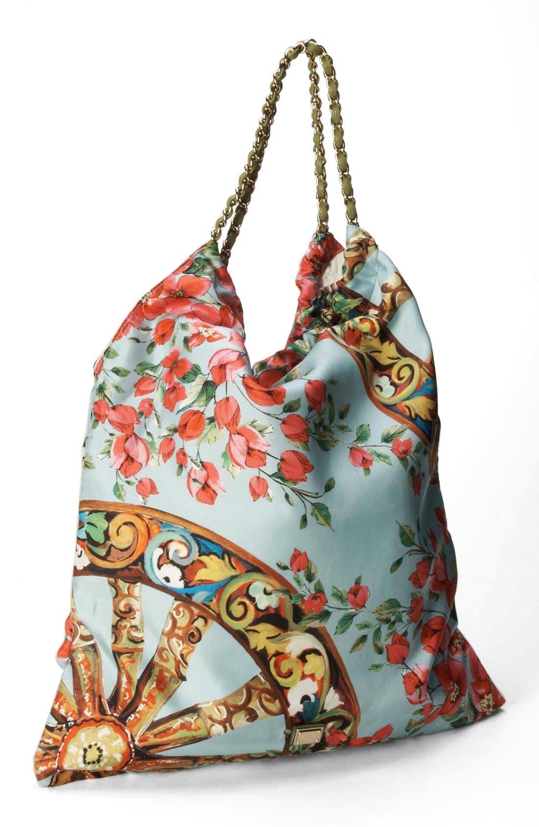 Main Image - Dolce&Gabbana 'St. Bouganville' Hobo, Large