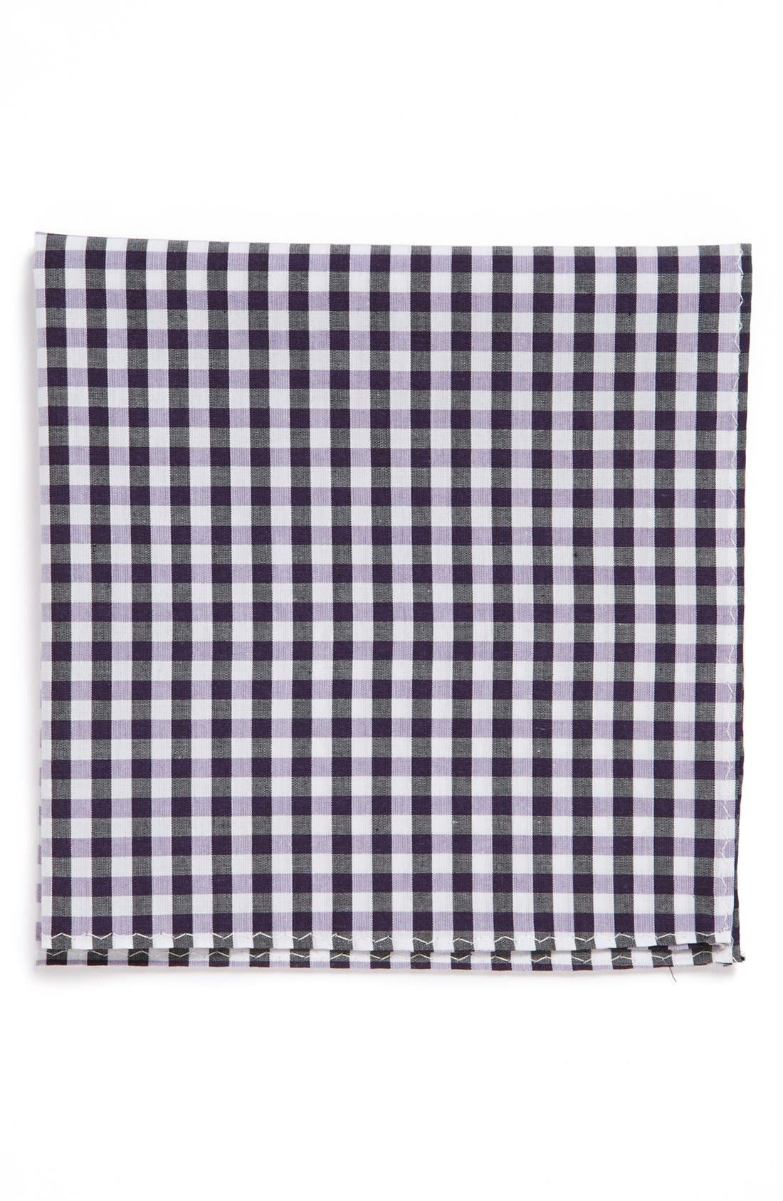 Main Image - Original Penguin 'Cohen Gingham' Cotton Pocket Square