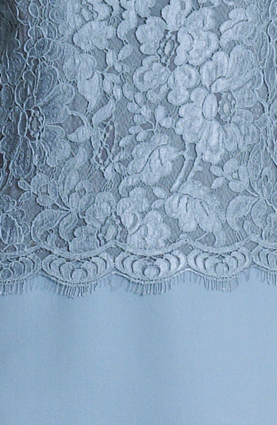 Alternate Image 3  - Dolce&Gabbana Lace & Cady Dress