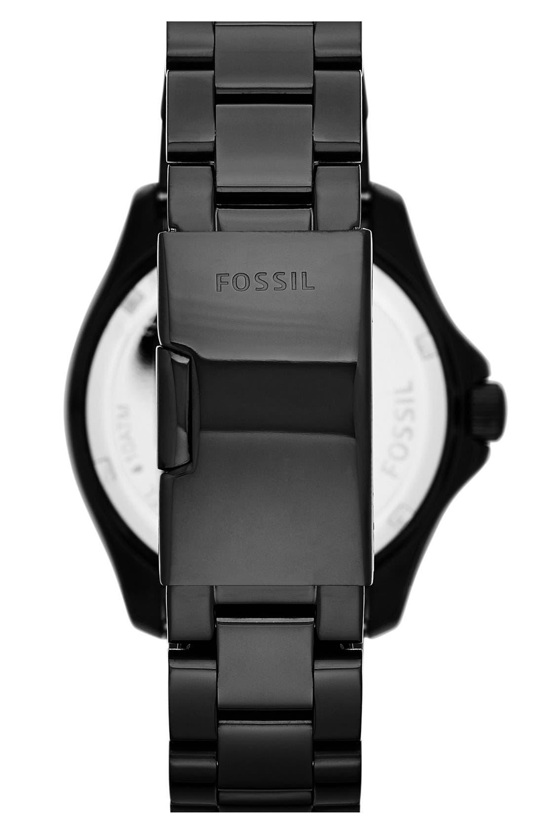 Alternate Image 2  - Fossil 'Cecile' Multifunction Bracelet Watch, 40mm