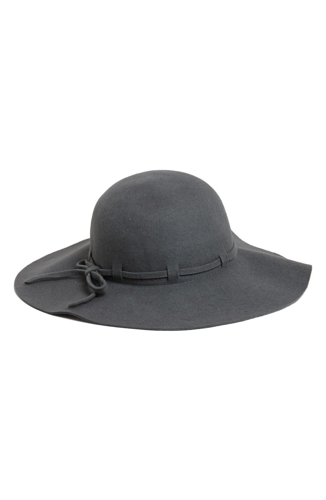 Alternate Image 1 Selected - Collection XIIX Floppy Wool Felt Hat