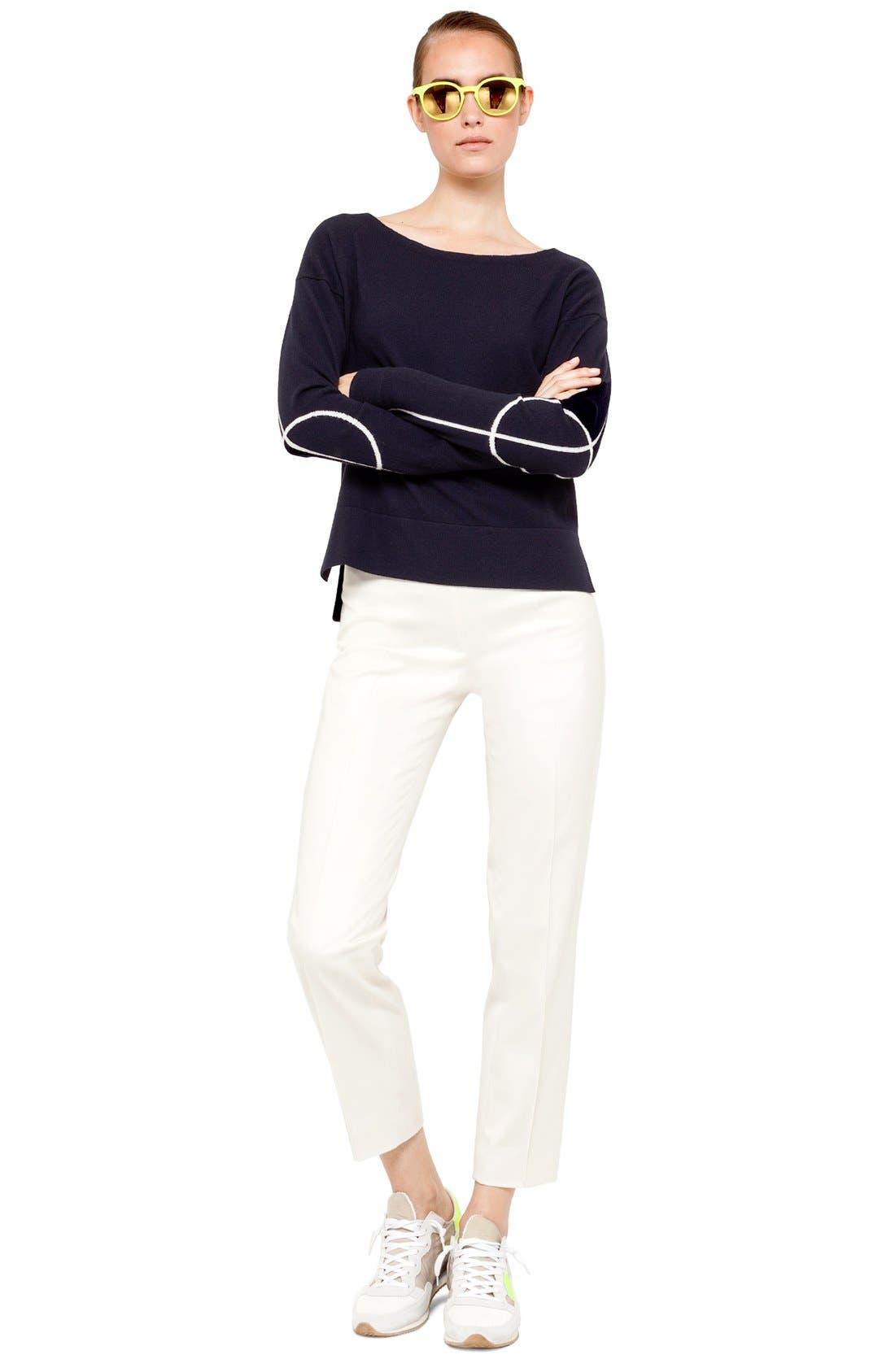 Main Image - Akris punto Crop Sweater & Pants