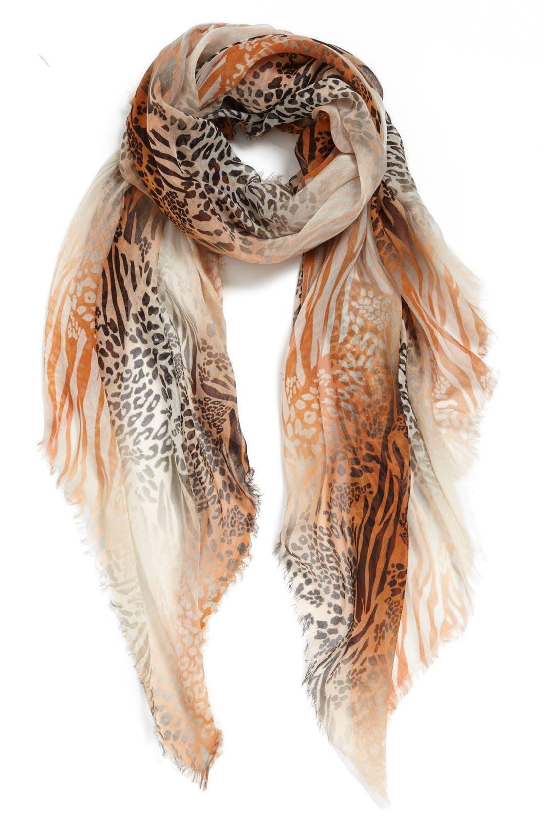 Main Image - Bindya Dual Animal Print Scarf