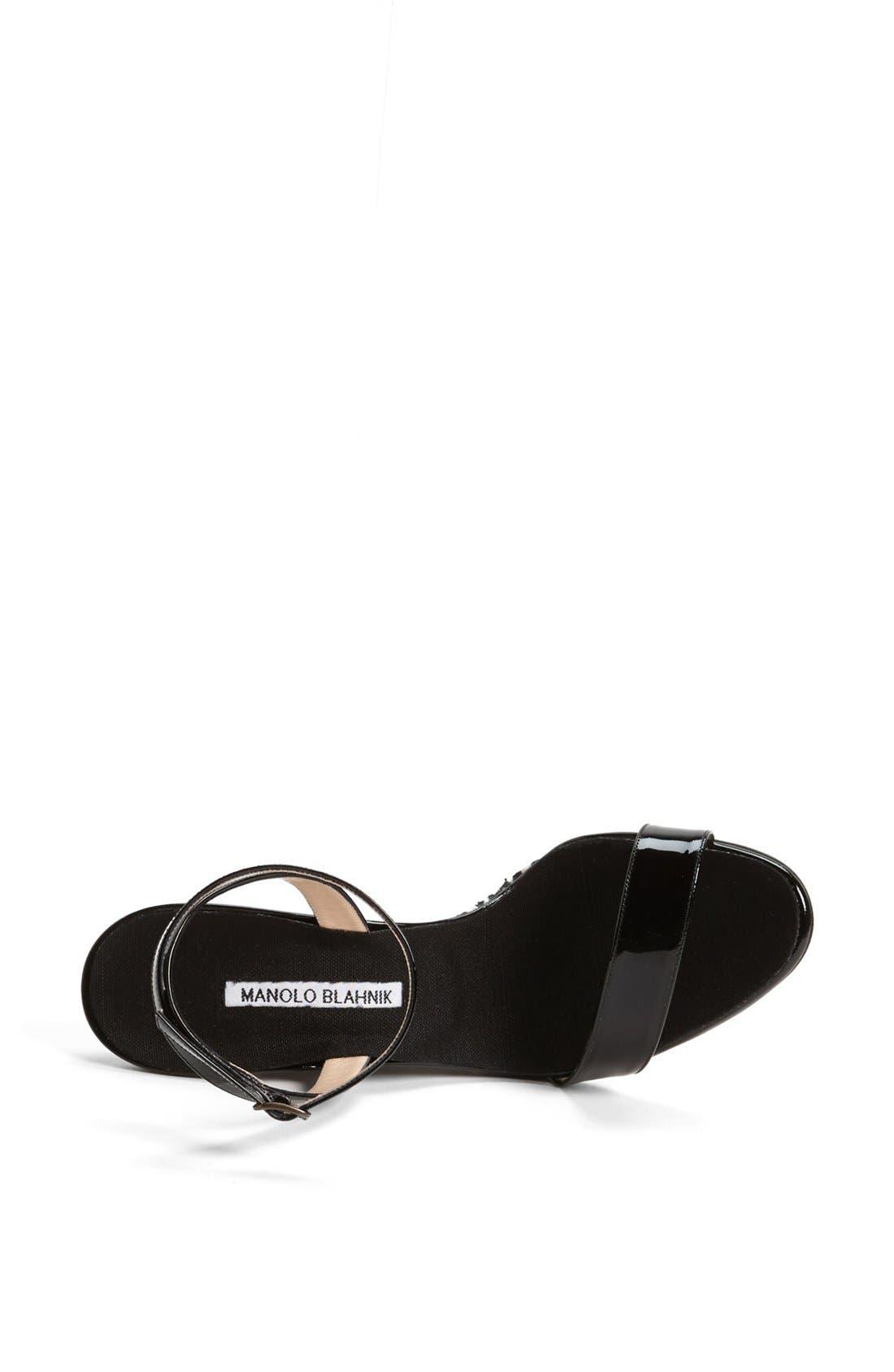 Alternate Image 3  - Manolo Blahnik 'Ribera' Wedge Sandal