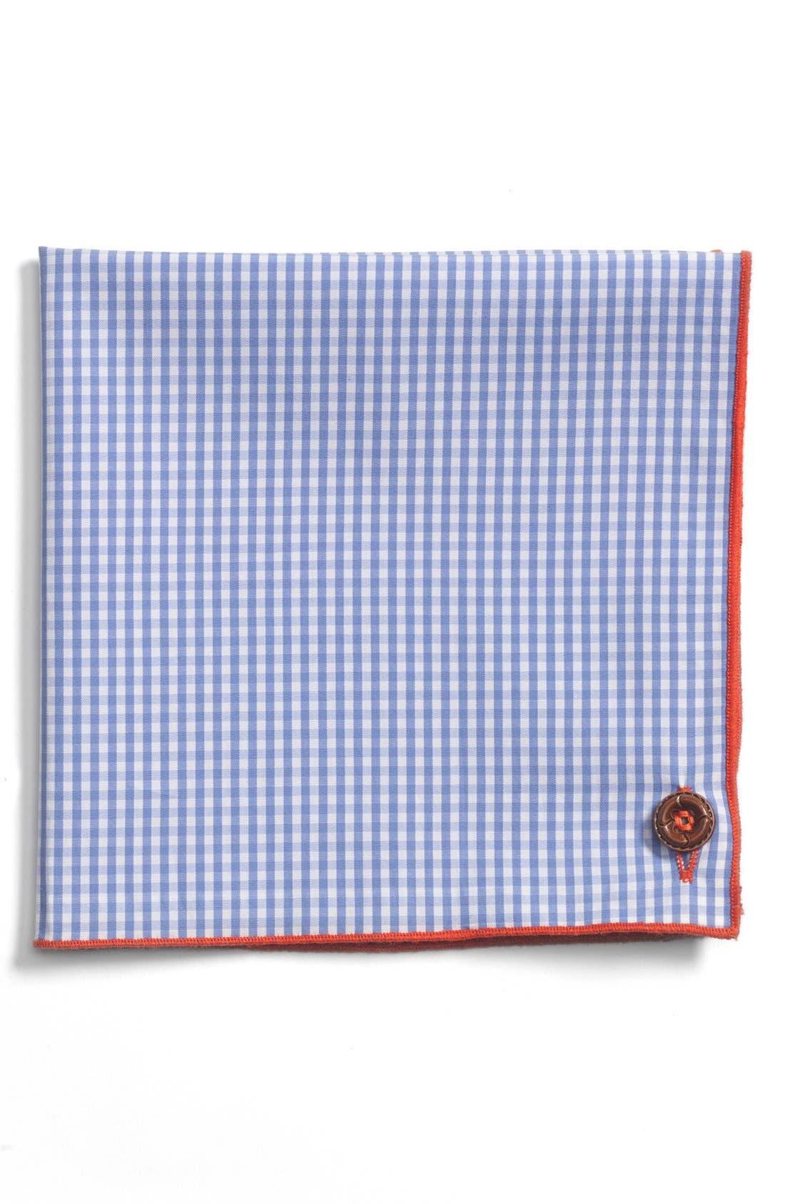 Alternate Image 2  - 1901 Cotton Pocket Square
