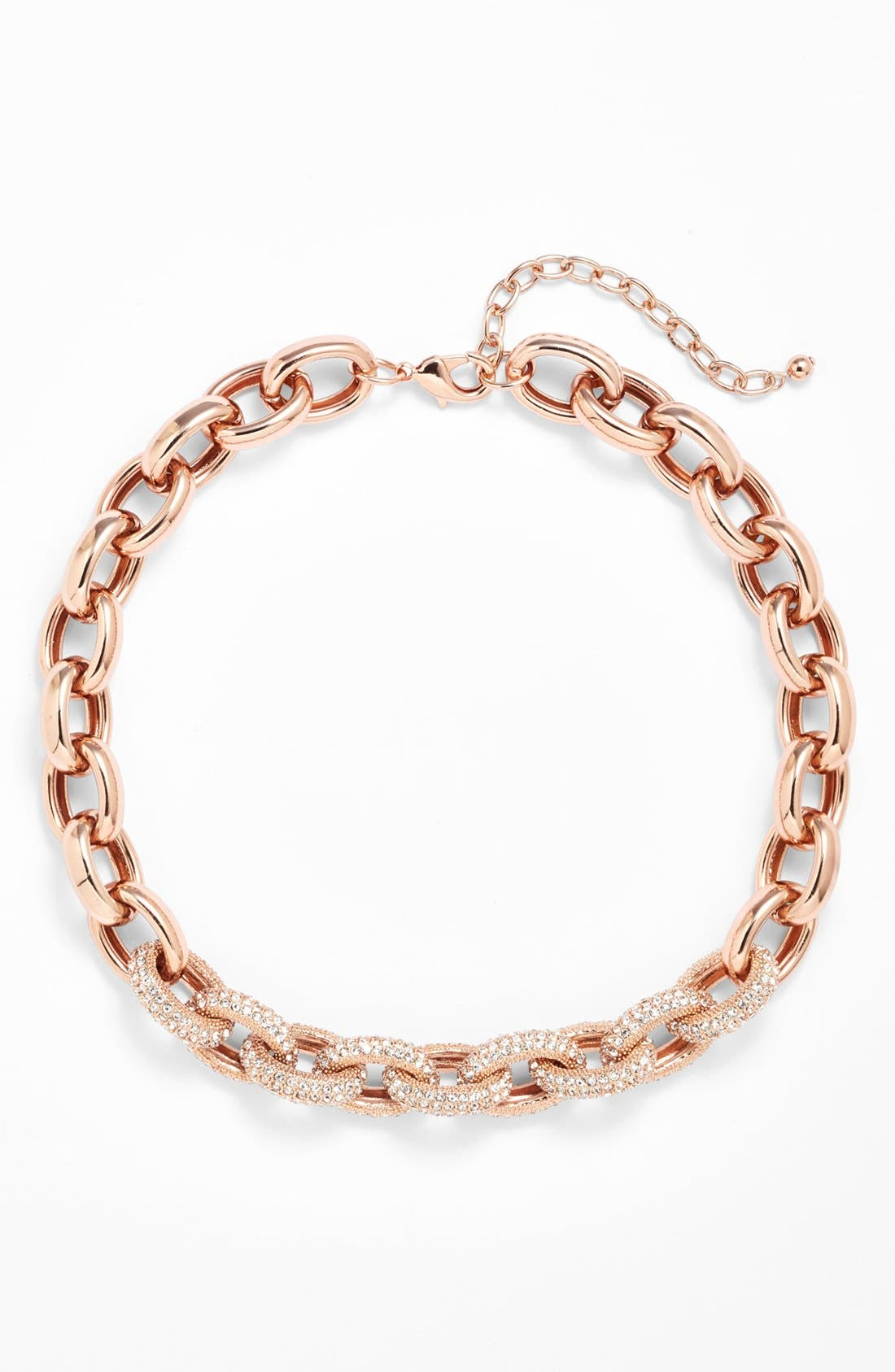 Alternate Image 2  - Nordstrom Pavé Link Collar Necklace