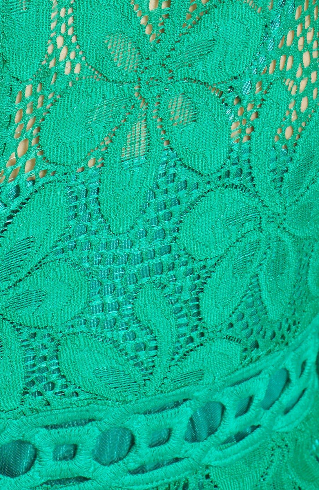 Alternate Image 3  - Laundry by Shelli Segal Lace Shift Dress
