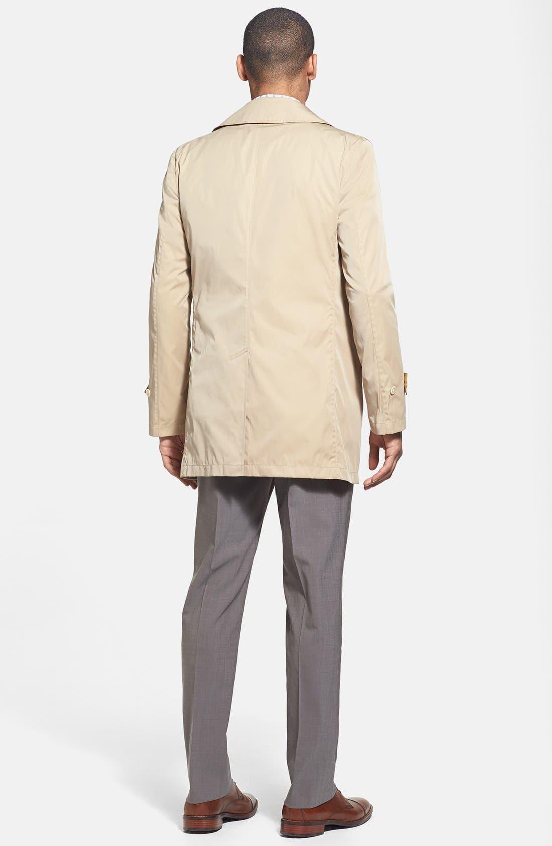 Alternate Image 4  - 1901 Trim Fit Non-Iron Check Dress Shirt