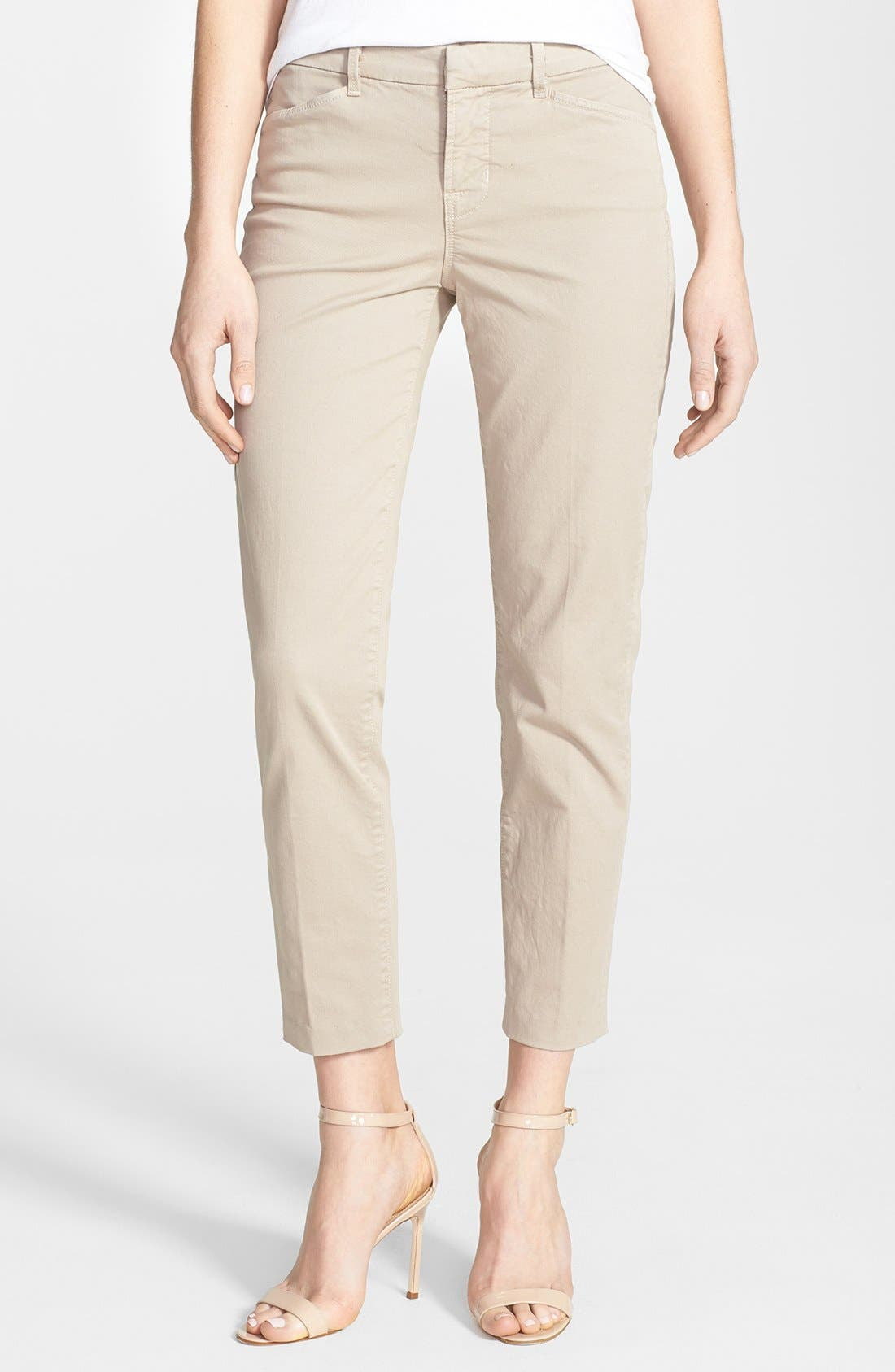 Alternate Image 1 Selected - J Brand 'Kailee' Crop Trousers