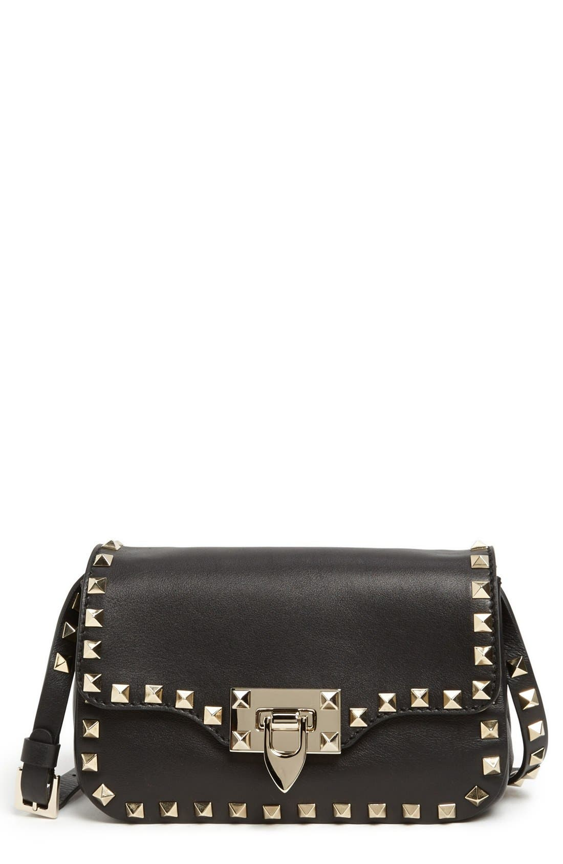 Alternate Image 1 Selected - Valentino 'Small Rockstud' Flap Bag