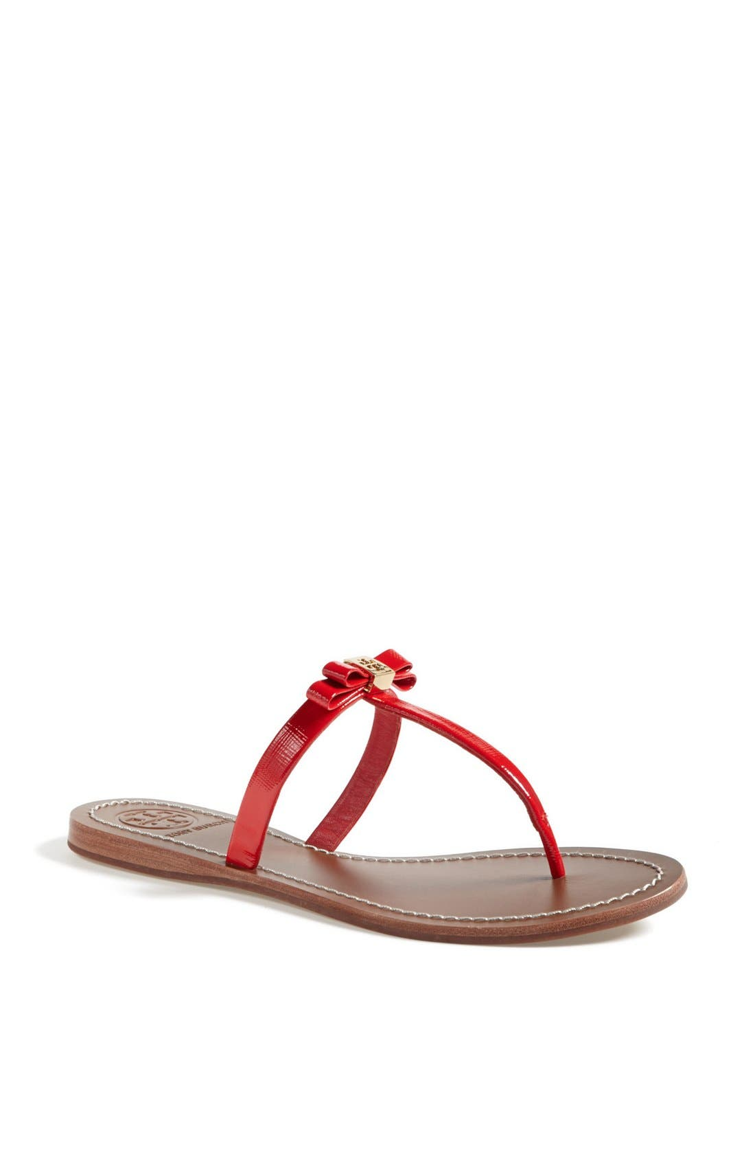 Main Image - Tory Burch 'Leighanne' Thong Sandal (Online Only)