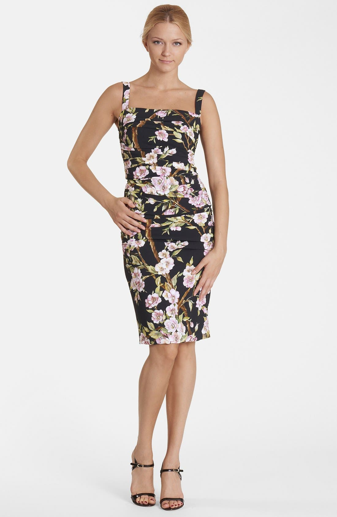 Alternate Image 1 Selected - Dolce&Gabbana Ruched Tank Dress