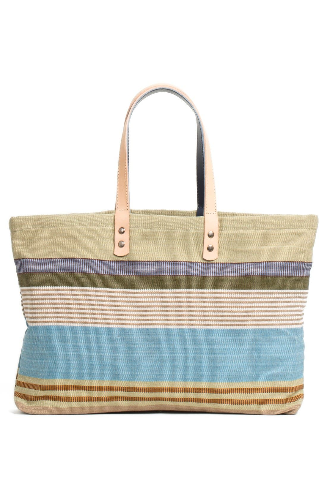 Alternate Image 2  - Will Leather Goods 'Weaver's House' Reversible Canvas Tote