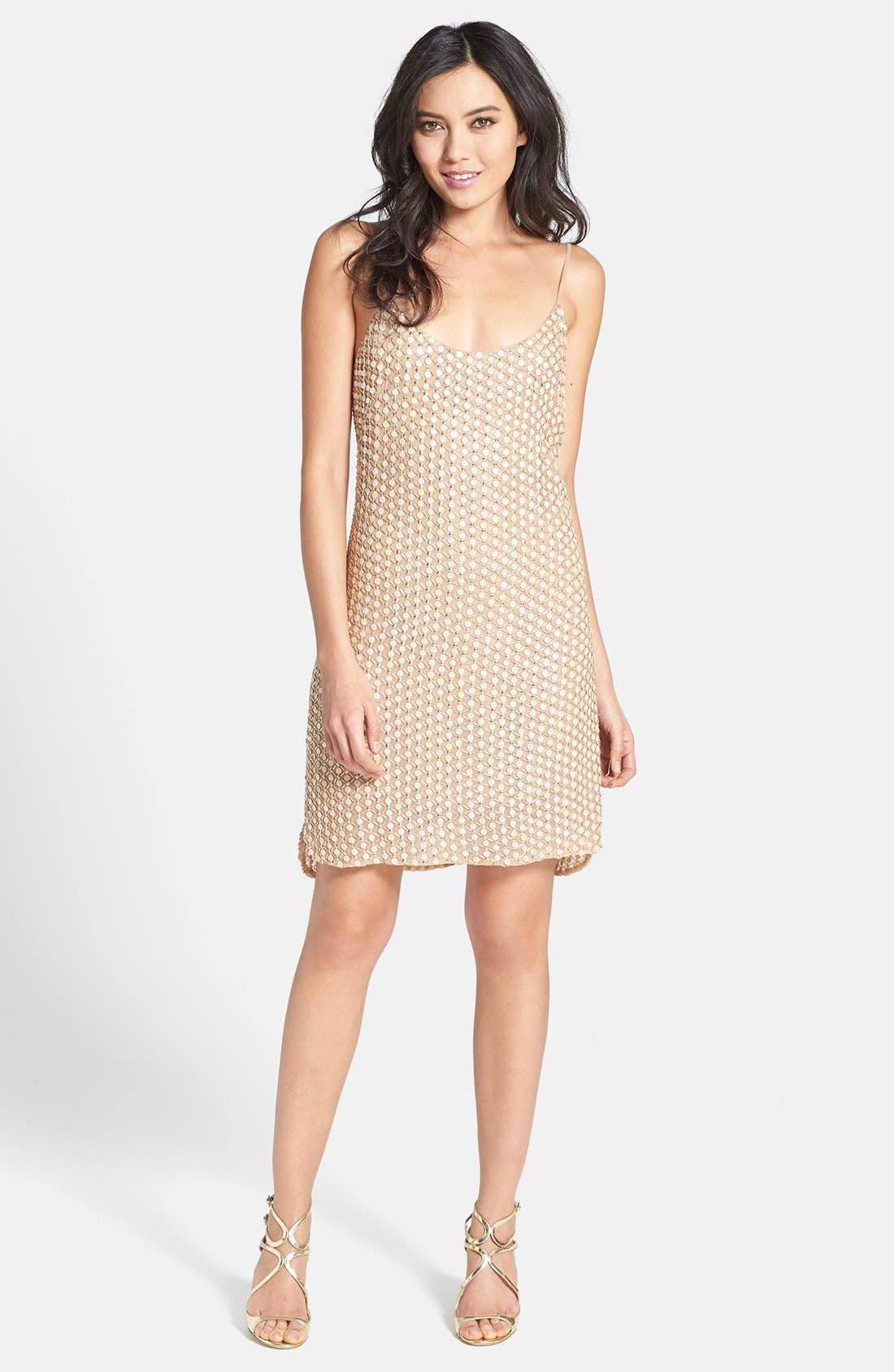 Main Image - Alexia Admor Embellished Tank Dress