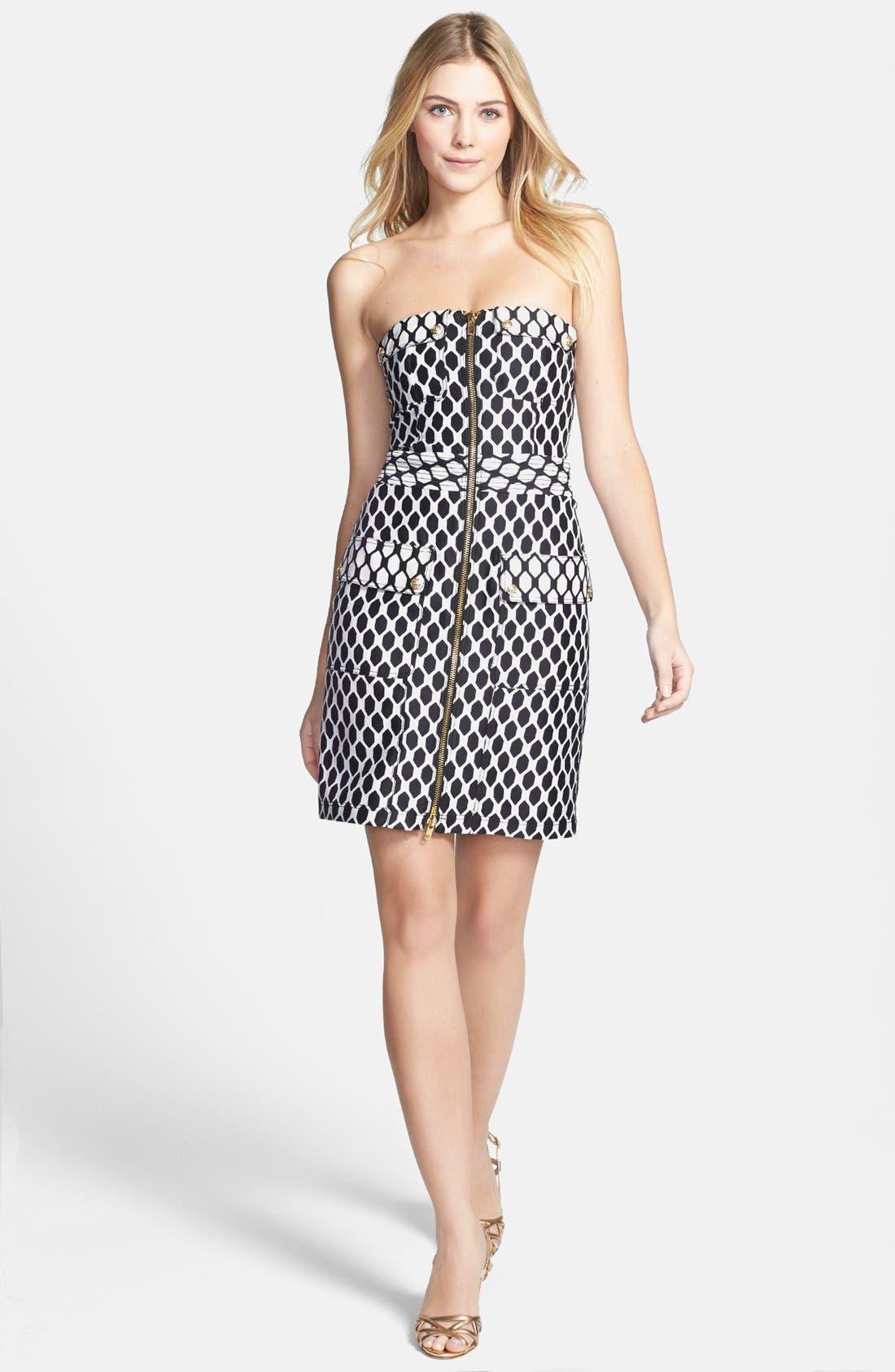 Alternate Image 1 Selected - Diane von Furstenberg 'Adida' Wool & Silk Sheath Dress
