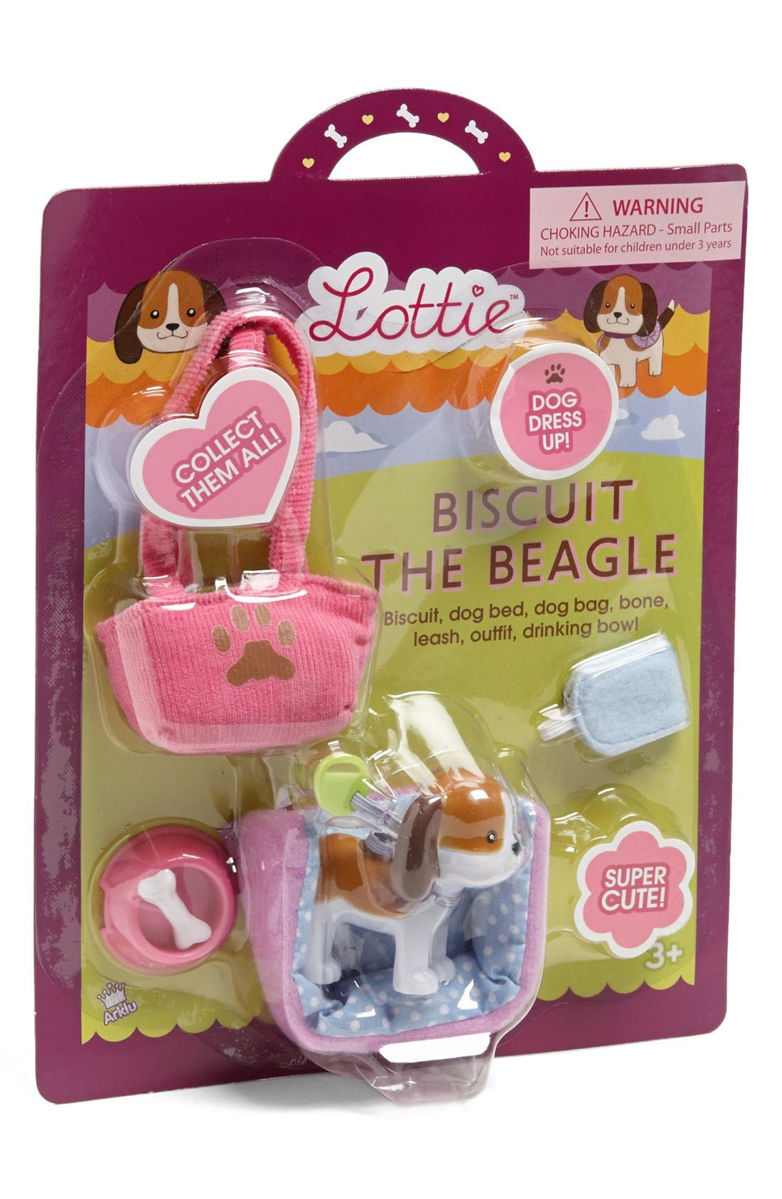 Main Image - Schylling 'Biscuit the Beagle' Lottie™ Doll Accessory