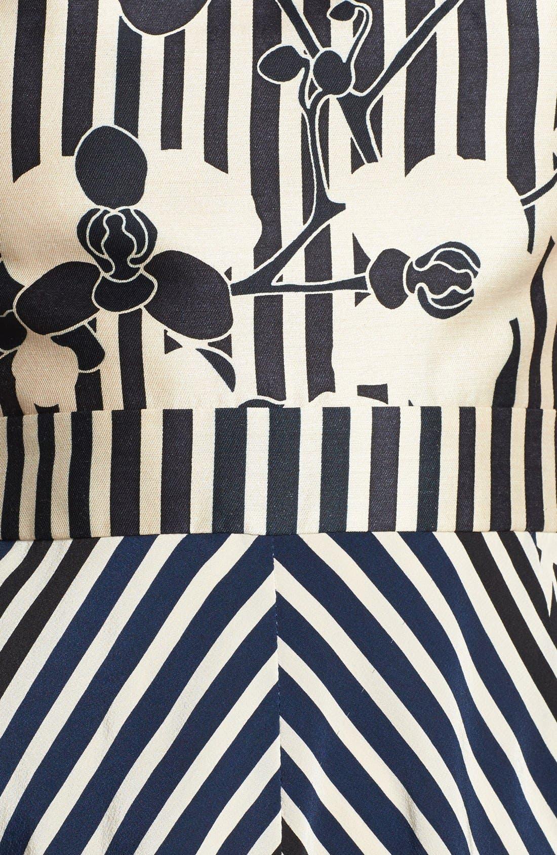 Alternate Image 4  - Diane von Furstenberg 'Kiman' Print Wool Blend A-Line Dress
